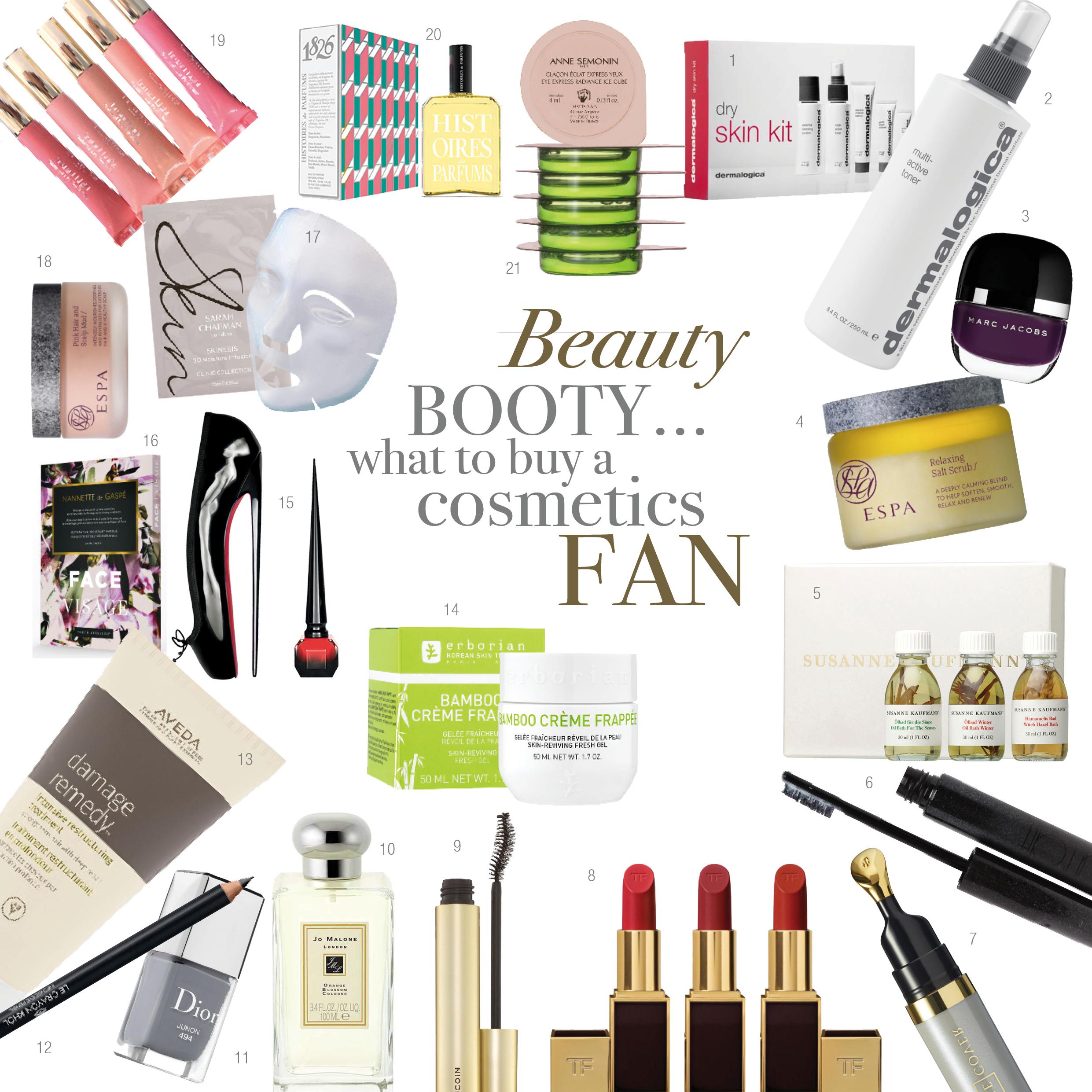 Beauty booty - What to buy a cosmetics fan