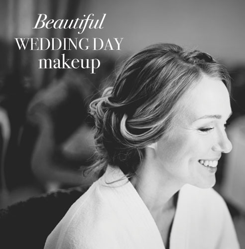How to create beautiful wedding day makeup