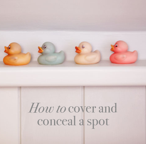 Easy step-by-step guide on how to cover and conceal a spot