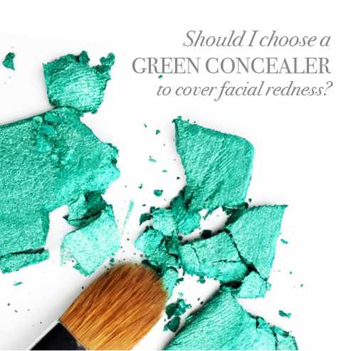 Should I choose a yellow or green concealer?